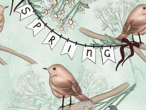 Maison printemps
